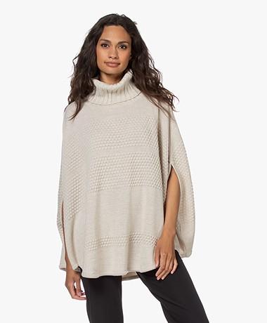 Sibin/Linnebjerg Siff Merino Wool Poncho - Kit