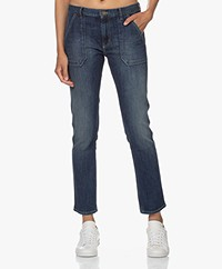 ba&sh Sally Girlfriend Jeans - Middenblauw