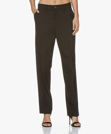 Closed Jools Loose-fit Tech Pantalon - Zwart