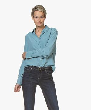 Joseph Klein Pure Silk Shirt - Blue