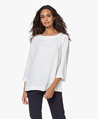 Woman by Earn Liva Boothals Blouse - Off-white