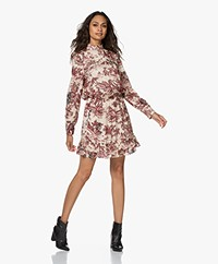 Zadig & Voltaire Rocket Jouy Printed Satin Dress - Toile