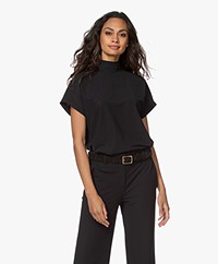Josephine & Co Joe Travel Jersey Colshirt - Zwart