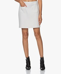 no man's land Stretch Mini Skirt - Marble