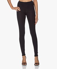 Majestic Filatures Soft Touch Jersey Leggings - Marine