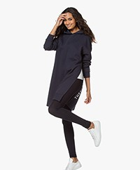 Closed Lange Oversized Sweater met Capuchon - Dark Night