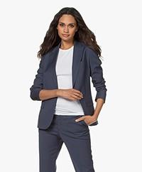 Filippa K Sasha Cool Wool Blazer - Storm Blue