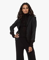 Filippa K Jackie Cool Wool Blazer - Zwart