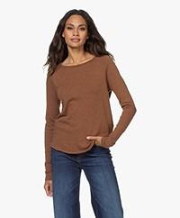 American Vintage Sonoma Slub Sweatshirt - Teddy Bear Melange