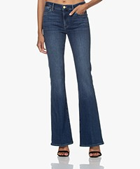 FRAME Le High Flare Stretch Jeans - Lupine