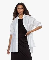 Closed Mira Oversized Cotton Shirt - White