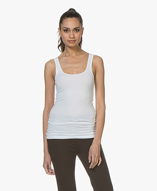 James Perse Lange Tanktop - Wit