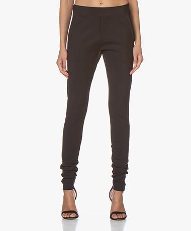 studio .ruig Boey Heavy Tech Jersey Pants - Black