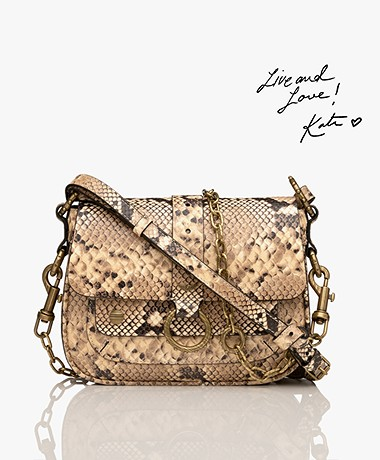 Zadig & Voltaire Kate Desert Cross-body/Shoulder Bag - Desert