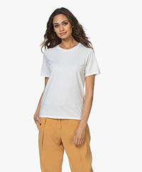 Majestic Filatures Round Neck T-shirt - White