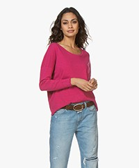 American Vintage Sonoma Boothals Longsleeve - Bougainville