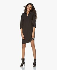 Josephine & Co Rifka Travel Jersey Jurk - Zwart