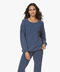 American Vintage Oversized Hapylife Sweater - Vintage Blue
