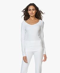 JapanTKY Tiyo Reversible Jersey Long Sleeve - White