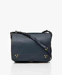 Jerome Dreyfuss Igor Goat Skin Shoulder Bag - Petrol