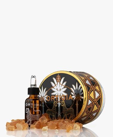 Ortigia Scented Crystals + Fragrance Oil - Ambra Nera