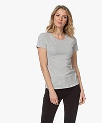 Majestic Filatures Jamie Deluxe Cotton T-shirt - Grey Melange