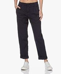 Drykorn Depart Cotton Cargo Pants - Dark Navy