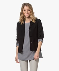 Filippa K Maylene Sustainable Tailored Blazer - Black