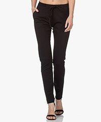 studio .ruig Bries Thick Jersey Pants - Black