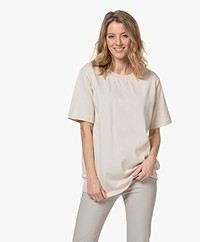 By Malene Birger Fayeh Organic Cotton T-Shirt - Stone