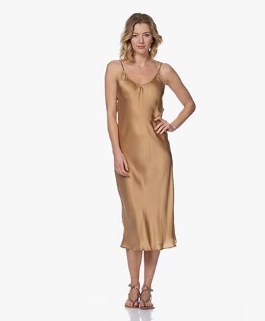 Mes Demoiselles Lolita Satin Dress - Gold