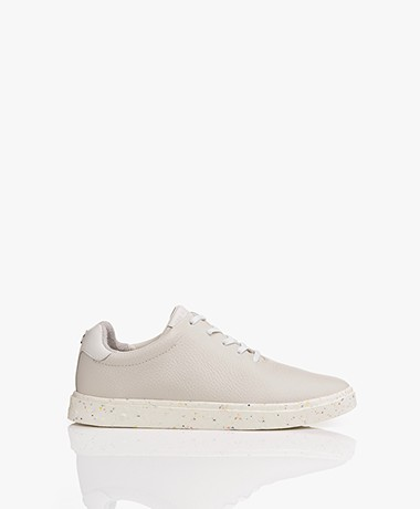 Rag & Bone RB1 Revival Leather Sneakers - Antique White