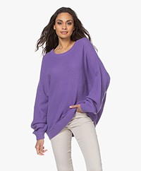 American Vintage Nizy Open Knit Sweater - Violet