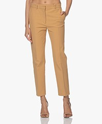 Joseph Coleman Bi-Stretch Cotton Pants - Oak