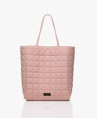 By Malene Birger Lulin Quilted Tote Bag - Rose Powder