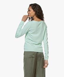Resort Finest Forte Round Neck Pullover - Green