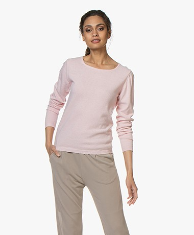 Resort Finest Forte Round Neck Pullover - Pink