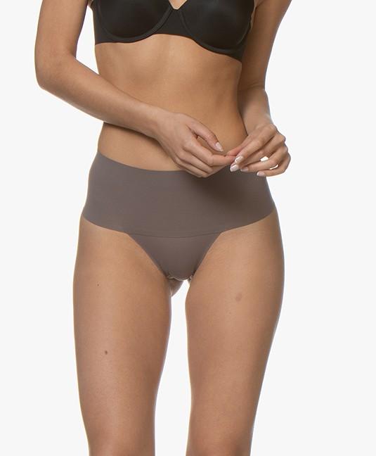 SPANX® Undie-Tectable Thong - Umber Ash