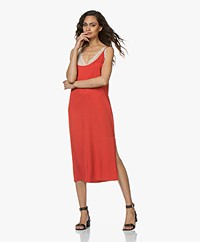 by-bar Dorris Midi Slip Dress - Salsa