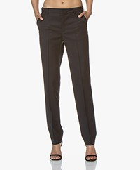 Filippa K Nicky Cool Wool Pants - Dark Navy