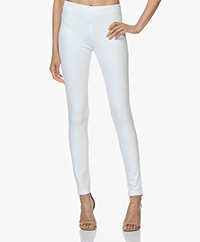 Joseph Gabardine Stretch Leggings - White