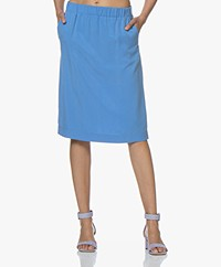 Josephine & Co Cain Tencel Skirt - Blue