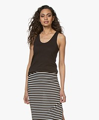 Rag & Bone Cotton Tank Top - Black
