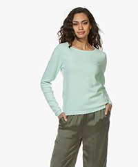 Resort Finest Forte Round Neck Pullover - Green