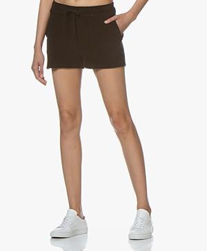 Majestic Filatures Frotté Shorts - Black