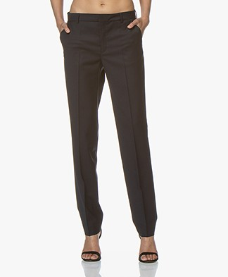 Filippa K Nicky Cool Wool Pantalon - Dark Navy