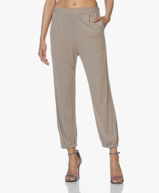 Filippa K Sheer Crepe Pants - Beige
