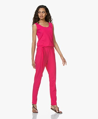 no man's land Travel Jersey Jumpsuit - Bright Dragon