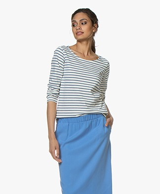 Plein Publique Striped Long Sleeve L'Aimee - Jeans