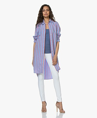 b1cd03339731 Josephine & Co Clay Striped Shirt Dress - Blue